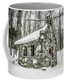 Old Stone Chapel Stowe Vermont Coffee Mug