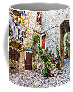 Old Stone Street Of Trogir Coffee Mug