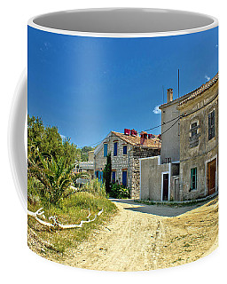 Old Streets Of Susak Island Coffee Mug