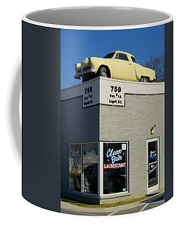Old Studebaker Building Coffee Mug