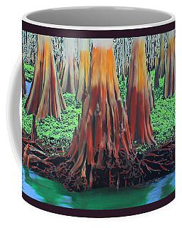 Coffee Mug featuring the painting Old Swampy by Deborah Boyd