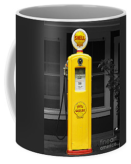 Old Time Gas Pump Coffee Mug by David Lawson
