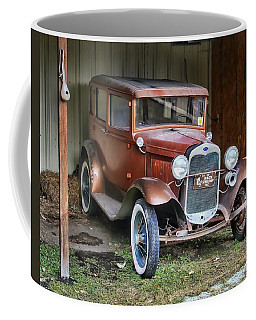 Coffee Mug featuring the photograph Old Timer II by Victor Montgomery