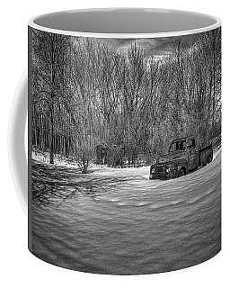 Old Timer In The Snow Coffee Mug