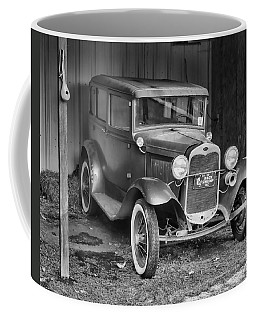 Coffee Mug featuring the photograph Old Timer by Victor Montgomery