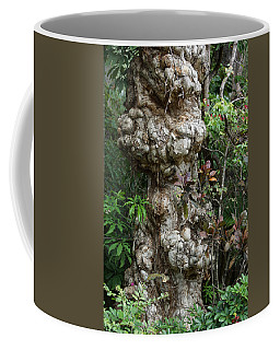 Coffee Mug featuring the mixed media Old Tree by Rafael Salazar