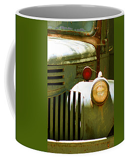 Old Truck Abstract Coffee Mug