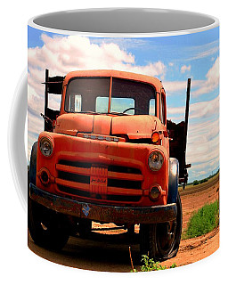 Coffee Mug featuring the photograph Old Truck by Matt Harang