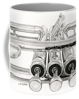 Old Trumpet Valves Coffee Mug