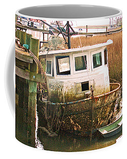 Old Tugboat By Jan Marvin Coffee Mug