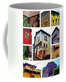 Coffee Mug featuring the photograph Old Turkish Houses by Zafer Gurel