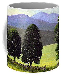 Old Wall Old Maples Coffee Mug