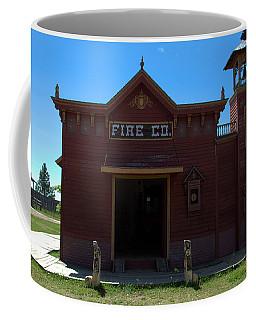 Old West Fire Station Coffee Mug