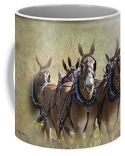 Old West Mule Train Coffee Mug by Betty LaRue