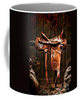 Old Western Saddle Coffee Mug
