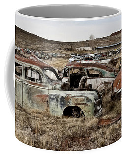 Old Wrecks Coffee Mug