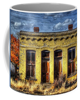 Coffee Mug featuring the photograph Old Yellow House In Buena Vista by Lanita Williams