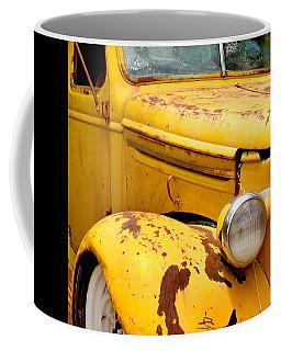 Old Yellow Truck Coffee Mug