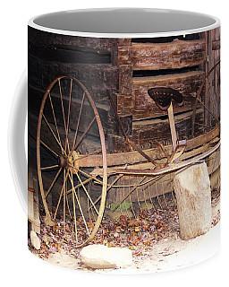 Coffee Mug featuring the photograph Ole Wheely by Faith Williams