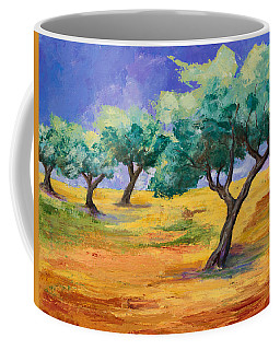 Olive Trees Grove Coffee Mug