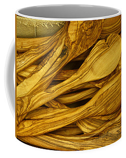 Olive Wood Coffee Mug