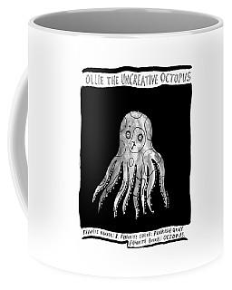 Ollie The Uncreative Octopus -- Favorite Animal: Coffee Mug