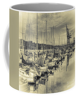 Coffee Mug featuring the photograph Olympia Marina 3 by Jean OKeeffe Macro Abundance Art