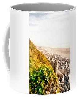 Olympic Peninsula Driftwood Coffee Mug
