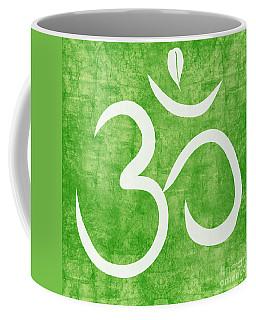 Om Green Coffee Mug