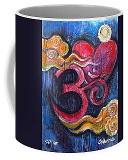 Om Heart Of Kindness Coffee Mug