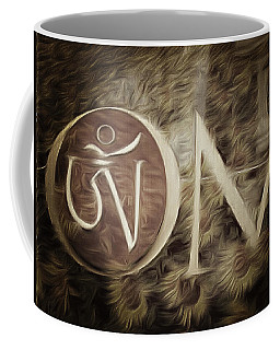 Om Sepia Coffee Mug