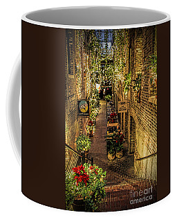 Omaha's Old Market Passageway Coffee Mug by Elizabeth Winter