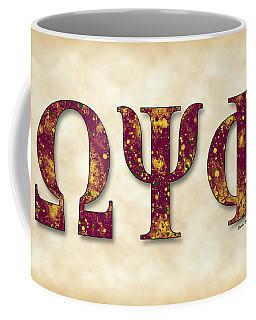 Omega Psi Phi - Parchment Coffee Mug