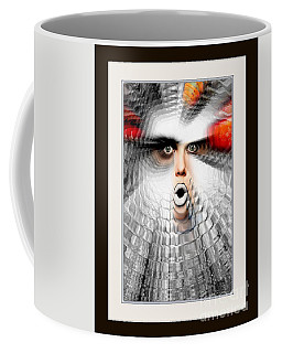 Coffee Mug featuring the painting OMG by Rafael Salazar