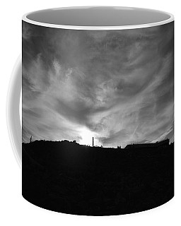 Ominous Sky Over Mt. Washington Coffee Mug