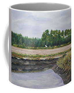 On A Tidal Creek Coffee Mug