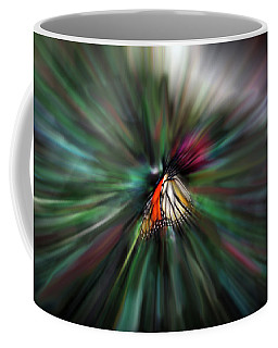 Coffee Mug featuring the photograph On A Wing And A Prayer by Wayne King