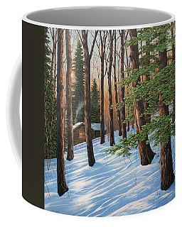 On A Winter's Morn Coffee Mug