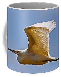 On Angel's Wings Coffee Mug by Gary Holmes