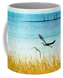 On Coastal Breezes Coffee Mug