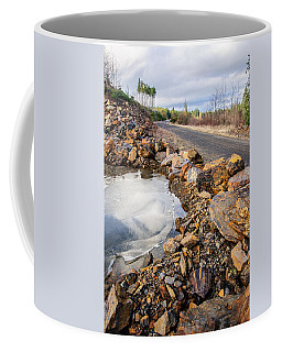 On Frozen Pond Collection 6 Coffee Mug by Roxy Hurtubise