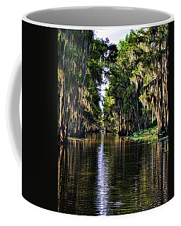 On Golden Canal Coffee Mug