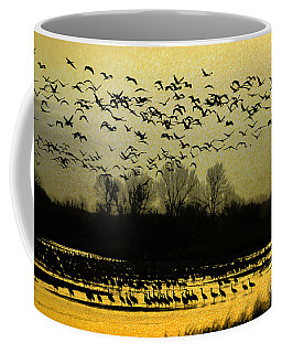 On Golden Pond Coffee Mug by Elizabeth Winter
