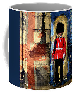 On Guard For Thee Coffee Mug by Ted Azriel
