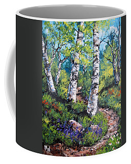 On My Way  Coffee Mug by Megan Walsh