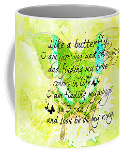 On My Way Coffee Mug by Tina  LeCour