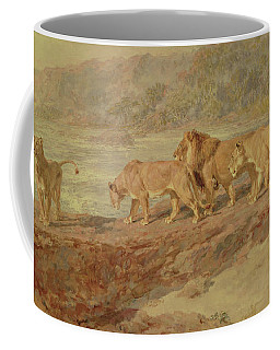 On The Bank Of An African River Coffee Mug