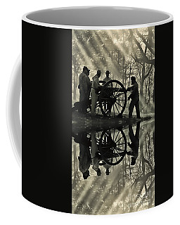 Coffee Mug featuring the photograph On The Banks by Geraldine DeBoer