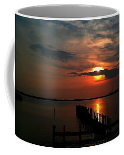 On The Boardwalk Coffee Mug by Debra Forand