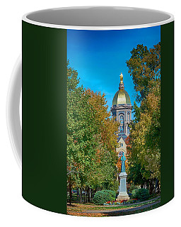 On The Campus Of The University Of Notre Dame Coffee Mug